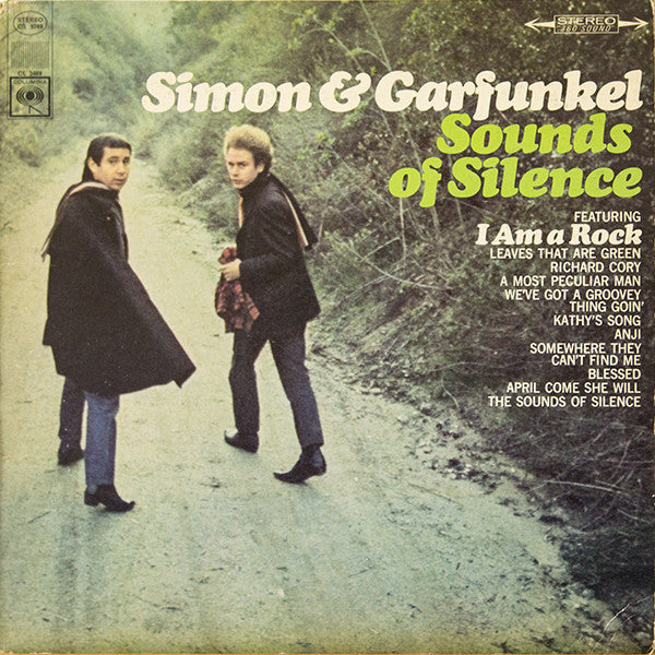 Simon & Garfunkel ‎– Sounds Of Silence - VG+ 1966 Stereo Original Press 360 Label USA  - Rock / Folk