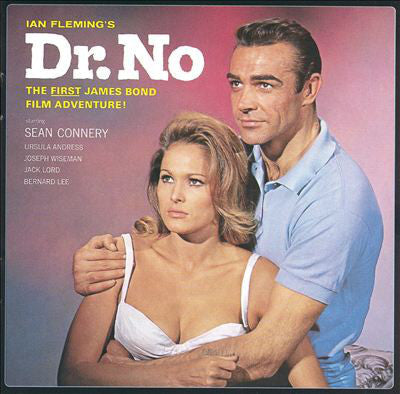 Soundtrack - Ian Fleming's Dr. No (the first James Bond film) - New Vinyl Record 2013 Capitol Records reissue of 1962 album - 180 gram Audiophile Quality