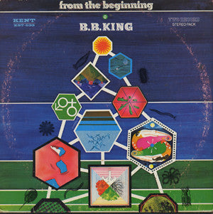 B.B. King ‎– From The Beginning - VG 2 Lp Set 1968 Stereo USA - Blues