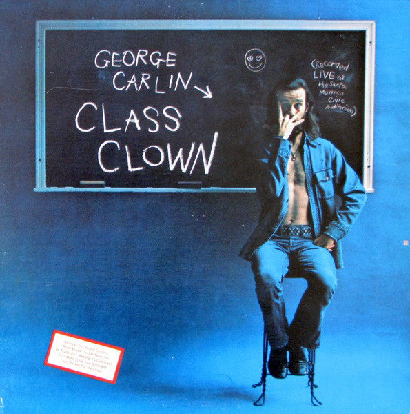 George Carlin ‎– Class Clown - VG+ Lp Record 1972 USA Original Vinyl - Comedy