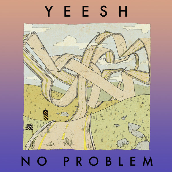Yeesh - No Problem - New Vinyl 2015 Already Dead Tapes Pressing of 300 - Indie Rock / Math Rock / Post-Hardcore (FU: Local/AlreadyDead)