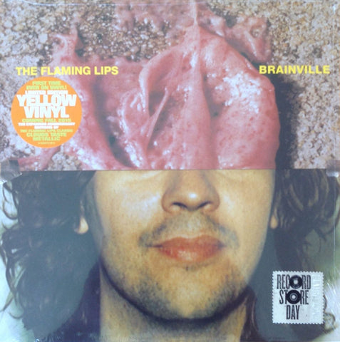 "The Flaming Lips ‎– Brainville - New Lp 10"" Record Store Day 2015 RSD Yellow Vinyl - Psychedelic Rock / Alternative Rock"