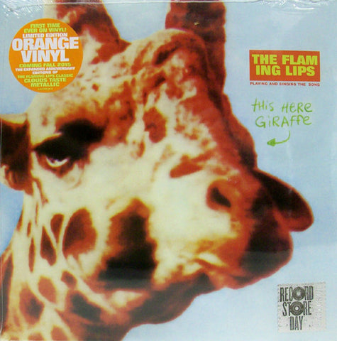 "The Flaming Lips ‎– This Here Giraffe - New 10"" Lp Record Store Day 2015 RSD - Orange Vinyl - Psychedelic Rock / Alternative Rock"