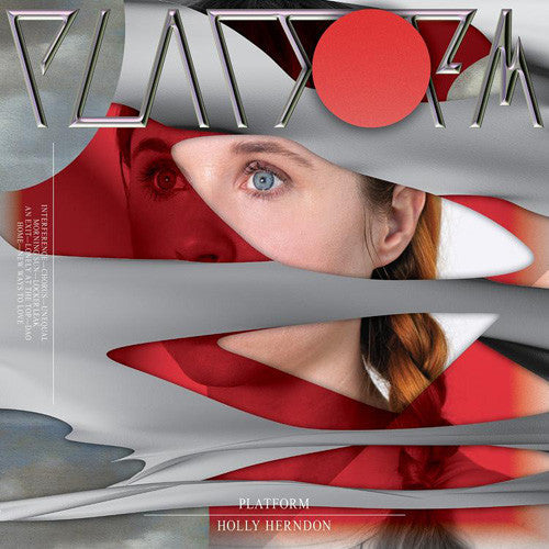 Holly Herndon - Platform - New Vinyl 2015 4AD 2-LP w/ Download  *** 8.7 / Best New Music! - Pitchfork - Electronic / Experimental