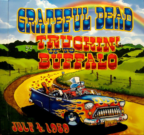 Grateful Dead ‎– Truckin' Up To Buffalo July 4 1989 - New 5 Lp Set 2015 USA Numbered Vinyl - Classic Rock / Country Rock / Psychedelic Rock