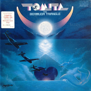 Tomita ‎– The Bermuda Triangle - Mint- LP Record 1979 USA Peach Colored Vinyl - Moog / Ambient / Classical