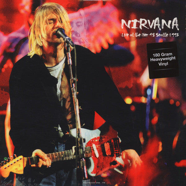Nirvana - Live at the Pier 48 / Seattle 1993 - New Vinyl Record 2015 DOL Europe 180gram Pressing