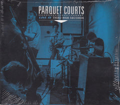 Parquet Courts ‎– Live At Third Man Records - New Vinyl 2015 USA (Recorded Live 06-05-2014)