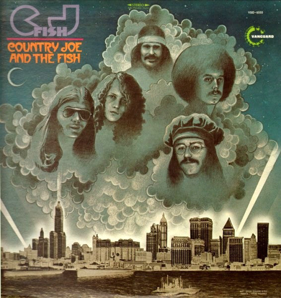 Country Joe And The Fish ‎– C.J. Fish - VG+ 1970 Stereo USA Original Press - Rock