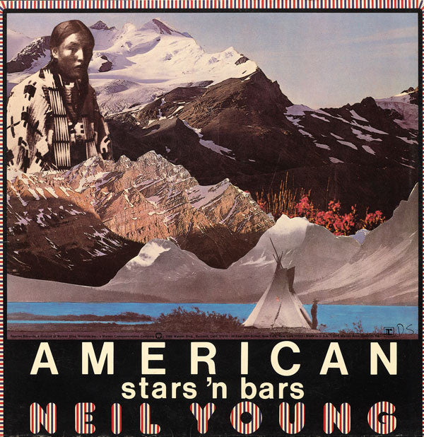 Neil Young ‎– American Stars 'N Bars - VG+ 1977 Stereo Original Press (With Matching Inner Sleeve) USA - Rock