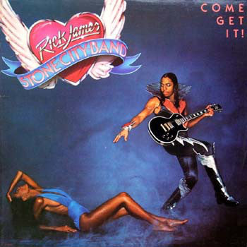 Rick James ‎– Come Get It! - VG Lp Record 1978 USA Vinyl - Funk / Disco