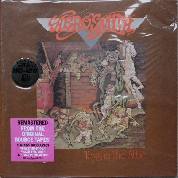 Aerosmith ‎– Toys In The Attic (1975) - New Lp Record 2013 USA 180 gram Vinyl Reissue - Rock