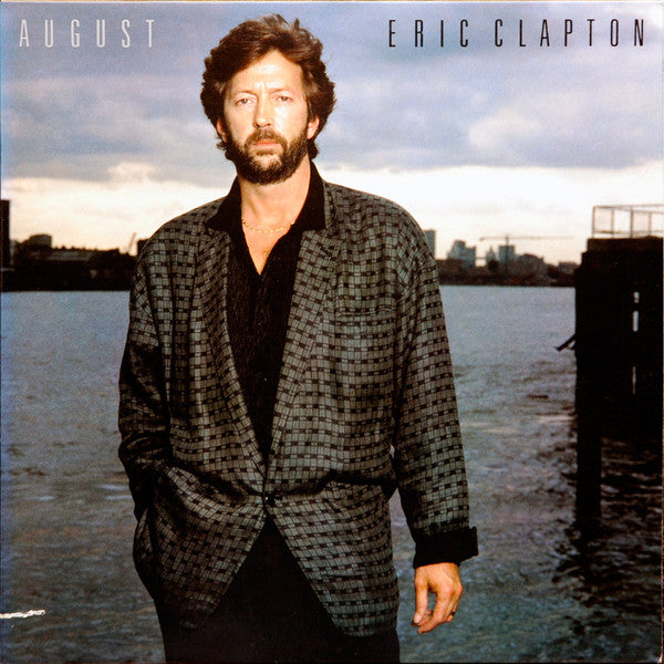 Eric Clapton ‎– August - Mint- Lp Record 1986 USA Vinyl - Rock
