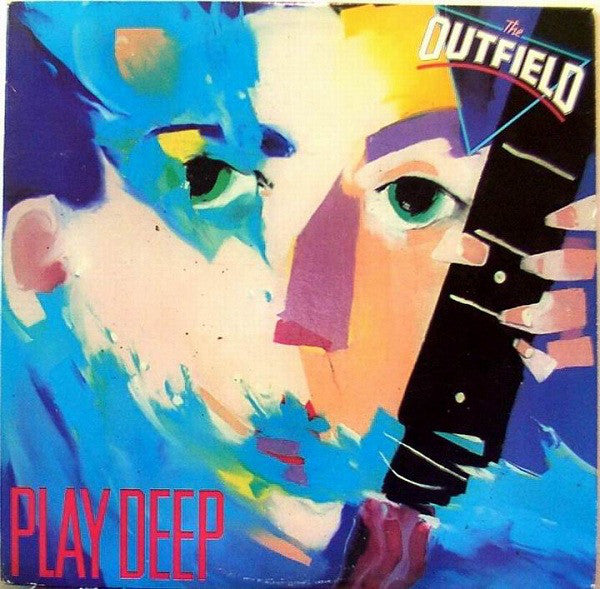 The Outfield ‎– Play Deep - Mint- Lp Record 1985 Original USA - Rock / Pop