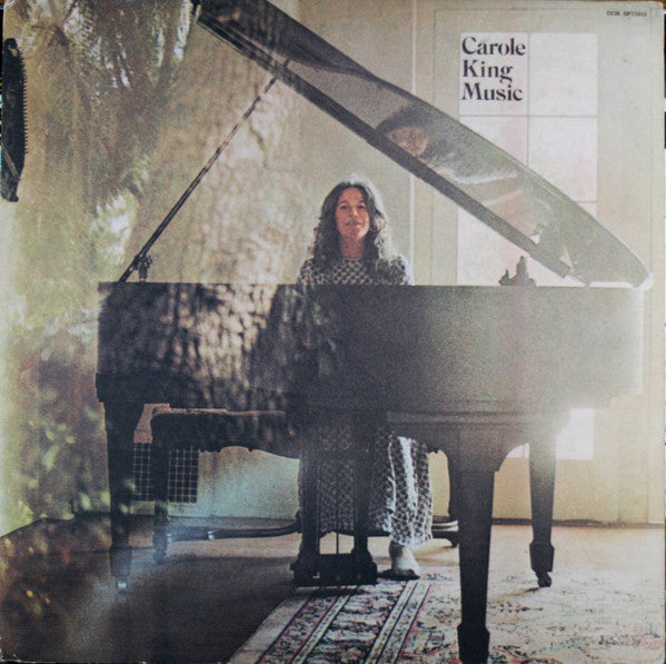 Carole King - Music - VG+ Lp Record 1971 Stereo Original USA Vinyl & Insert Sheet - Soft Rock / Folk Rock
