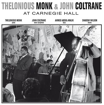 Thelonious Monk & John Coltrane - At Carnegie Hall (1957) - New Vinyl Lp 2015 DOL 180 Gram EU Import Pressing - Jazz / Hard Bop