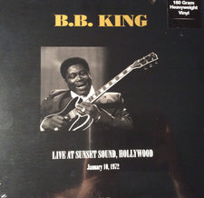 B.B. King - Live at Sunset Sound, Hollywood 1972 - New Vinyl Record 2015 DOL UK 2-LP 180gram Vinyl - Blues / Rock