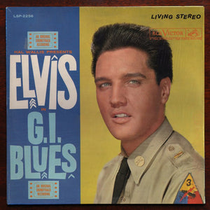 Elvis Presley ‎– G.I. Blues - VG 1960 USA Stereo Original Press - Rock /  Soundtrack