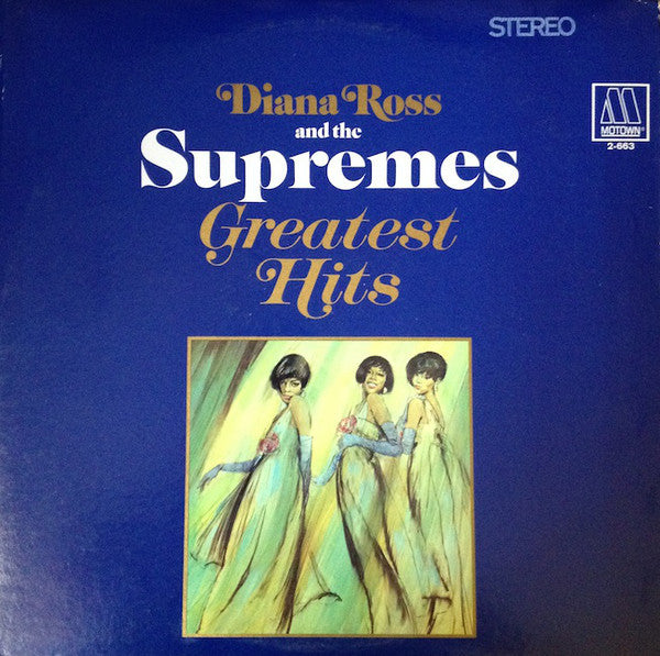 Diana Ross & The Supremes ‎– Greatest Hits - VG+ 1967 Stereo USA 2 Lp Set - Soul