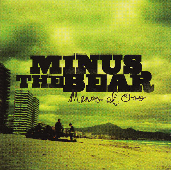 Minus the Bear - Menos El Oso - New Vinyl Record 2015 10th Anniversary Limited Edition of 1000 on High Melt Green Vinyl! - Alt / Indie / Math Rock