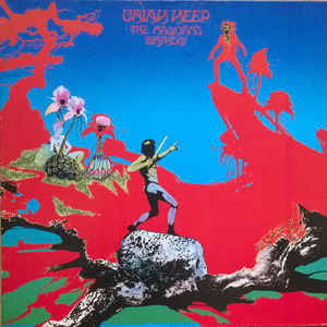 Uriah Heep ‎– The Magician's Birthday - VG+ Lp Record 1972 USA Original Vinyl - Rock / Hard Rock / Prog Rock