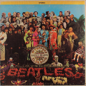The Beatles - Sgt. Pepper's Lonely Hearts Club Band - VG+ Lp Record 1967 Stereo Original USA Rainbow Label Vinyl - Pop Rock / Psychedelic Rock - B16-096