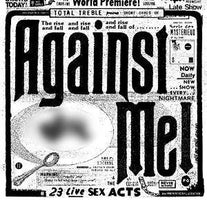 Against Me! - 23 Live Sex Acts - New 3 Lp Record 2015 USA Colored 180 gram Vinyl & Download - Punk / Rock