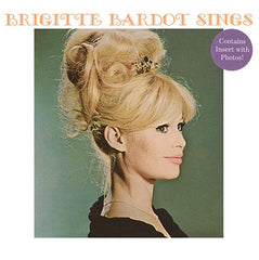 Brigitte Bardot - Sings - New Vinyl 2015 DOL UK 140gram Vinyl Pressing w/ Photo Insert Sheet -  60's French Pop / features Collabs with Serge Gainsbourg & Claude Bolling