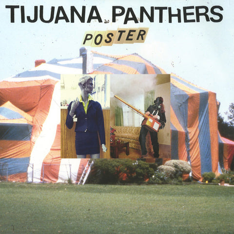 Tijuana Panthers - Poster - New Vinyl Record 2015 Innovative Leisure - Surf / Garage Rock