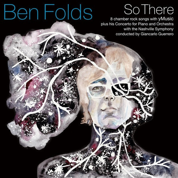 Ben Folds - So There - New Vinyl Record 2015 Limited Edition Gatefold 2-LP 180gram Opaque White Vinyl w/ Download - Pop/Rock