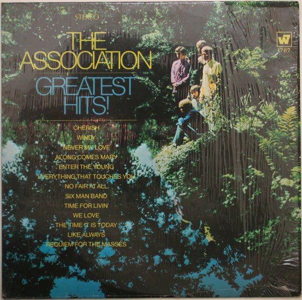 The Association ‎– Greatest Hits! - VG+ Lp Record 1967 Stereo Original USA - Pop Rock