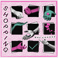 "Shopping - Why Choose - New Vinyl 2015 Limited Edition Clear Vinyl w/ 36""x24"" Poster Sleeve (the cover is a poster!) - Dance Punk / Post-Punk"