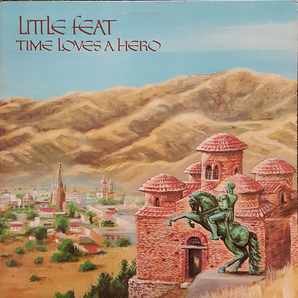 Little Feat - Time Loves a Hero - VG+ 1977 Stereo (Original Press) USA - Rock