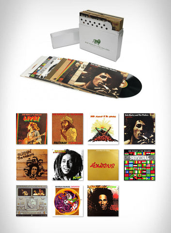Bob Marley and the Wailers - The Complete Island Recordings - New 12 Lp Record Box Set 2015 Europe Import 180 gram vinyl Zippo - Roots Reggae