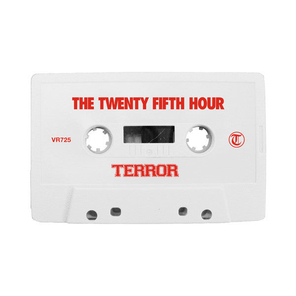 Terror - The Twenty Fifth Hour - New Cassette 2016 Victory Records Limited Edition White Tape (150 Made) - Hardcore