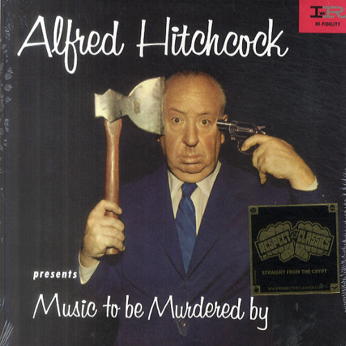 Alfred Hitchcock ‎– Music To Be Murdered By (1958) - New Lp Record 2015 USA Vinyl - Jazz / Spoken Word / Easy Listening