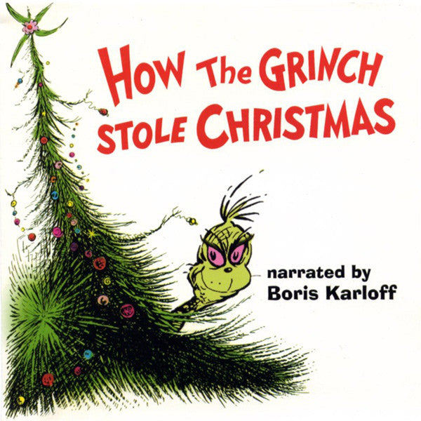 dr seuss how the grinch stole christmas new lp record 2015 usa on green translucent vinyl soundtrack - How The Grinch Stole Christmas 2015