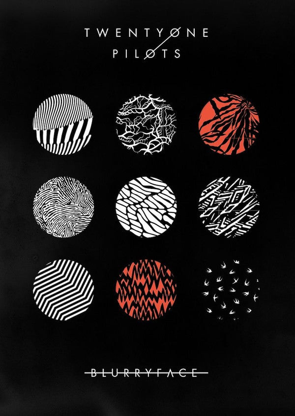 Twenty One Pilots - Blurryface - New Cassette 2015 Limited Edition Red Tape - Electronic Pop / Rock