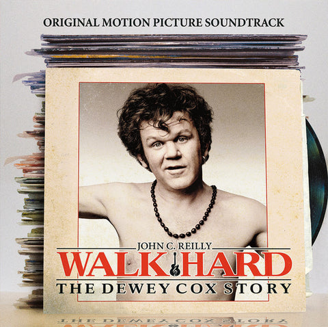 Soundrack - Walk Hard: The Dewey Cox Story - New Vinyl Record 2016 SRC Limited Edition Reissue Gatefold LP on Clear Vinyl
