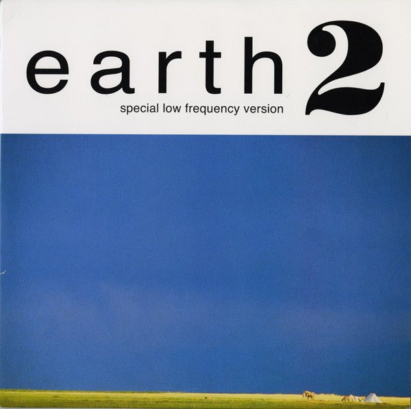Earth ‎– Earth 2 - Special Low Frequency Version - New 2 Lp Record 2006 Sub Pop USA Vinyl & download - Stoner Rock / Doom Metal