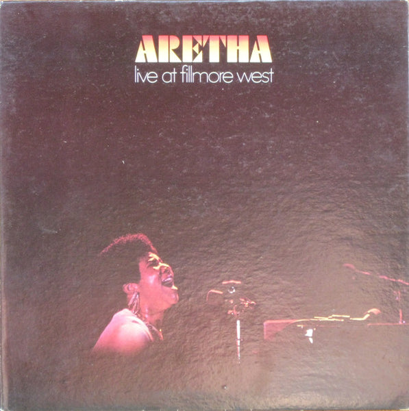 Aretha Franklin ‎– Live At Fillmore West - VG Lp Record 1971 US Original Vinyl & Insert - Soul