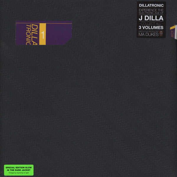 J Dilla / Jay Dee - Dillatronic Vol. 1 - New Vinyl 2015 w/ Glow in the Dark Jacket - Beats / HipHop