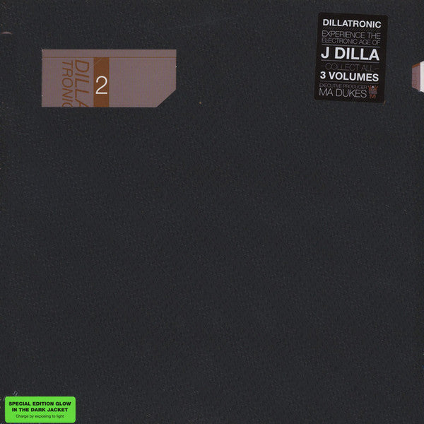 J Dilla / Jay Dee - Dillatronic Vol. 2 - New Vinyl Record 2015 w/ Glow in the Dark Jacket - Beats / HipHop