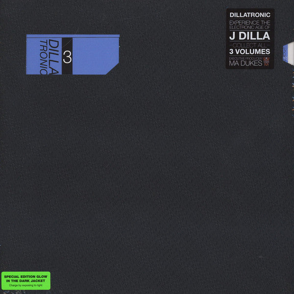 J Dilla ‎– Dillatronic 3 - New Lp Record 2015 Vintage Vibez USA Clear Vinyl & Glow in the Dark Jacket - Instrumental / Hip Hop