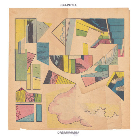 Helvetia - Dromomania - New Lp Record 2015 USA Joyful Noise Vinyl - Indie Rock / Experimental