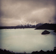 NY in 64 - NY64 - New Vinyl 2015 Magic Bullet USA Clear Vinyl feat Justin Hock and Thomas Schlatter of 90's Screamo champs 'You and I' - Post-Hardcore / Post-Metal