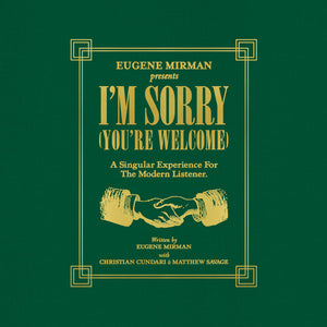 Eugene Mirman - I'm Sorry (You're Welcome) - New Vinyl Record 2015 Sub Pop Deluxe 7-LP Boxset + Download - Comedy / Spoken Word