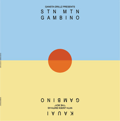 Childish Gambino - STN MTN // Kauai - New Vinyl 2 Lp 2015 Limited Import Pressing on Clear Vinyl - Rap / Hip Hop