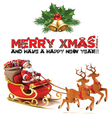 Various ‎– Merry Xmas! And Have A Happy New Year! - LP - New Lp Record 2015 Red Vinyl Mariah Carey, Slade, Chris Rea, Wham!, Brenda Lee + More! B-Side Label features a 'gift card' you can write a to:-from: message on!