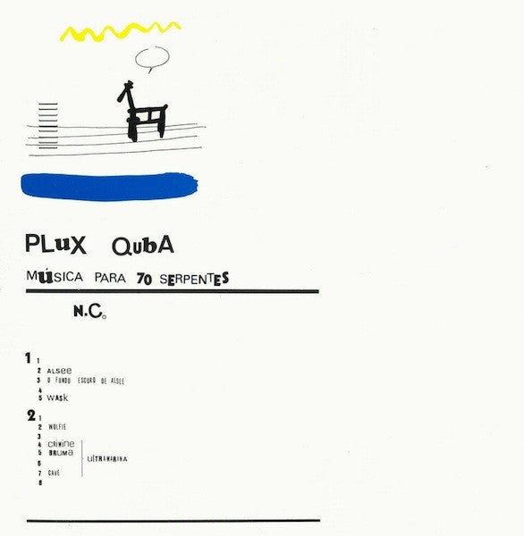 Nuno Canavarro ‎– Plux Quba - New LP Record 2015 Drag City USA Vinyl - Experimental Electronic / Abstract